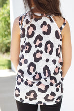 Load image into Gallery viewer, Leopard print halter tank