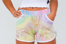 Load image into Gallery viewer, Tie dye print shorts