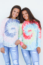 Load image into Gallery viewer, In the Groove Tie Dye Sweatshirt