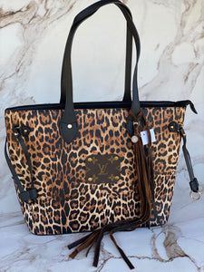 Large LV Cheetah Tote