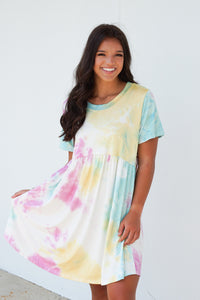 Happy Days Tie Dye Dress