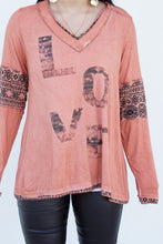 Load image into Gallery viewer, Love Me Long Sleeve Top