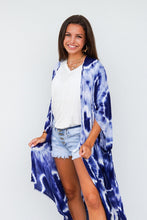 Load image into Gallery viewer, Tie Dye Long Kimono