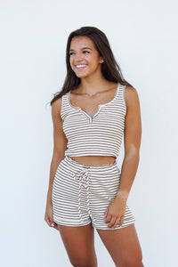 Coffee Mornings Striped Set
