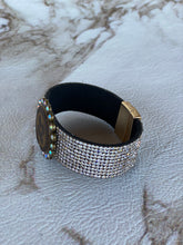 Load image into Gallery viewer, LV Rhinestone Cuff