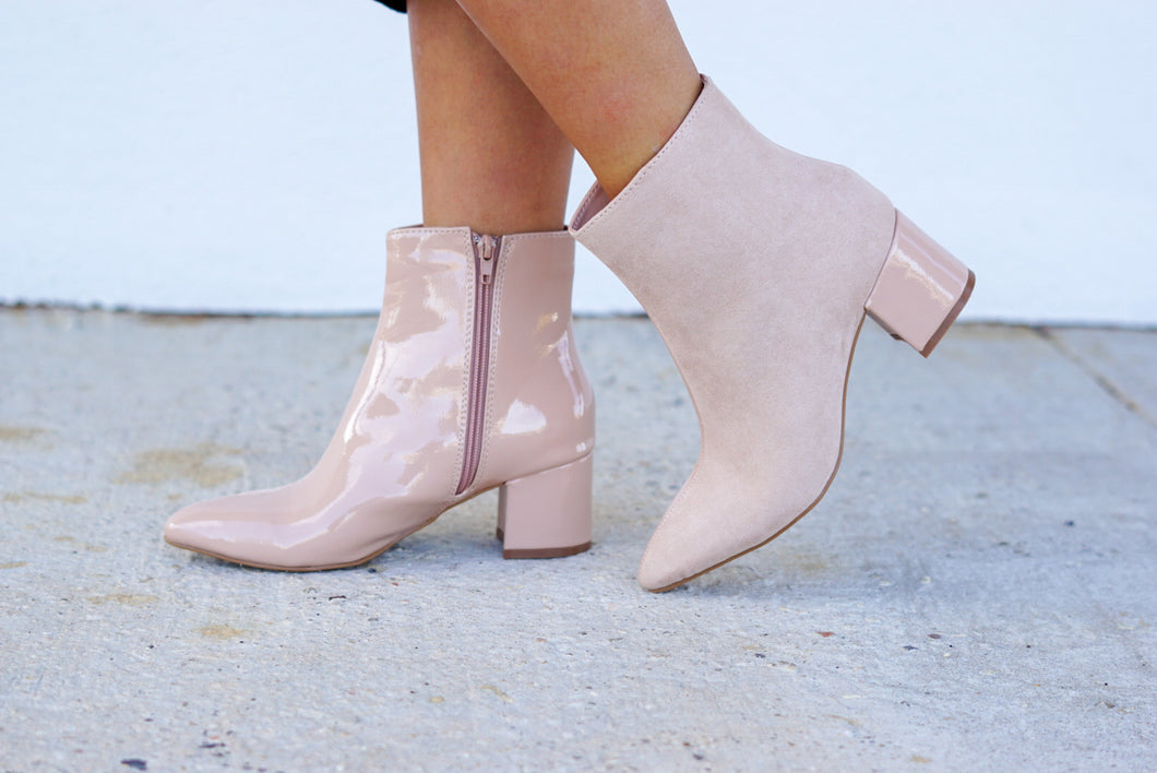 These Boots Are Made For Walking Booties