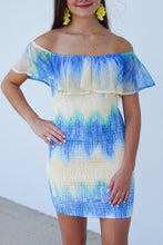 Load image into Gallery viewer, Staycation TieDye Tube Dress