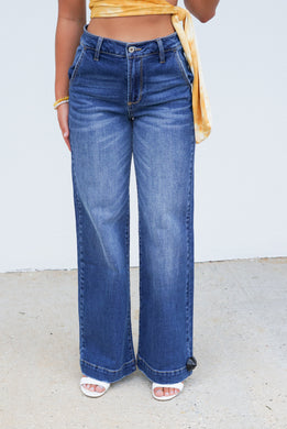 One Way Wide Leg Jeans