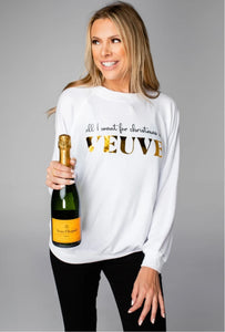 Veuve For Christmas Please Top