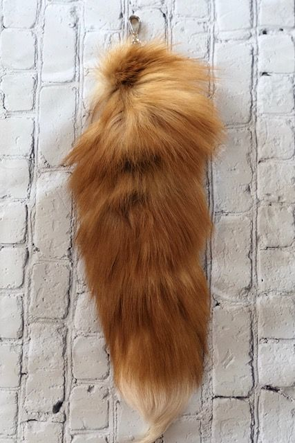 Red Fox Tails - Breazy's Boutique
