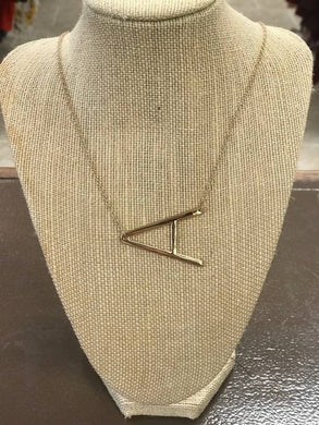 Initial Necklace - Breazy's Boutique