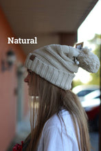 Load image into Gallery viewer, Oversize Slouchy Beanie With Pom Pom - Breazy's Boutique