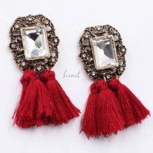 Load image into Gallery viewer, Pom Pom Earrings - Breazy's Boutique