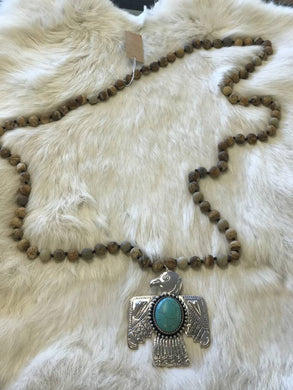 Thunderbird Necklace - Breazy's Boutique