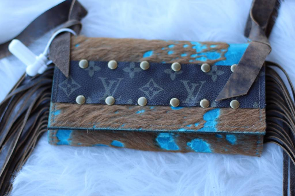 Turquoise Beauty Clutch
