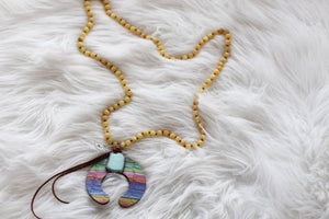 Leather Naja Necklace - Breazy's Boutique