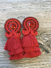 Load image into Gallery viewer, Tier Tassel Earrings - Breazy's Boutique