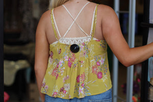Floral Adjustable Tank - Breazy's Boutique