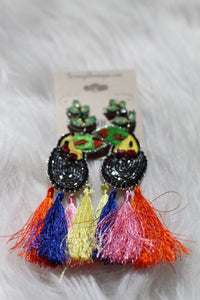 Pirates Tassel Earrings - Breazy's Boutique