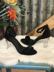 Clear-Heeled High Heels - Breazy's Boutique