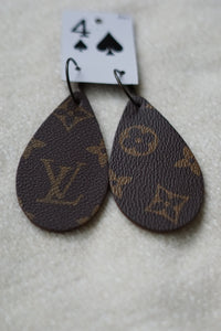 Louis Vuitton Large Teardrop Earrings