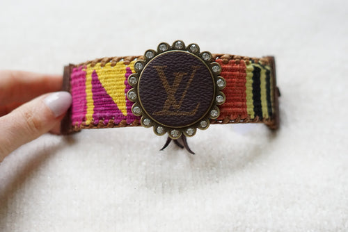 Lv Adjustable Cuff - Breazy's Boutique
