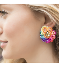 Load image into Gallery viewer, MINI ROUND EARRINGS - Breazy's Boutique