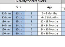 Load image into Gallery viewer, Infant Fendi Dupe Shoes
