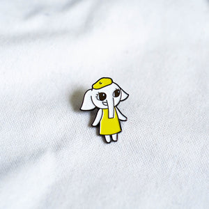 Elephant Pin Badge [002]