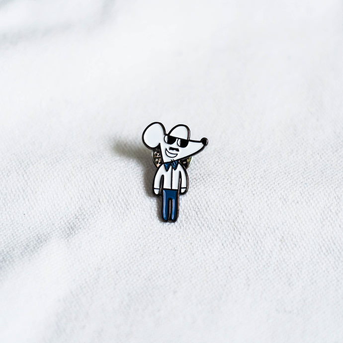 Mouse Pin Badge [003]