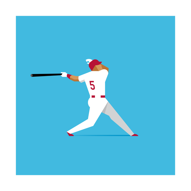 Albert Pujols St. Louis Cardinals Art Print