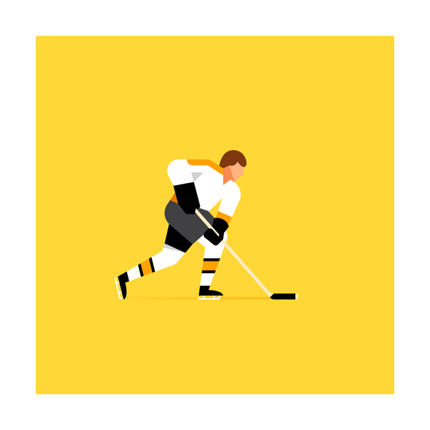 Bobby Orr Boston Bruins Art Print