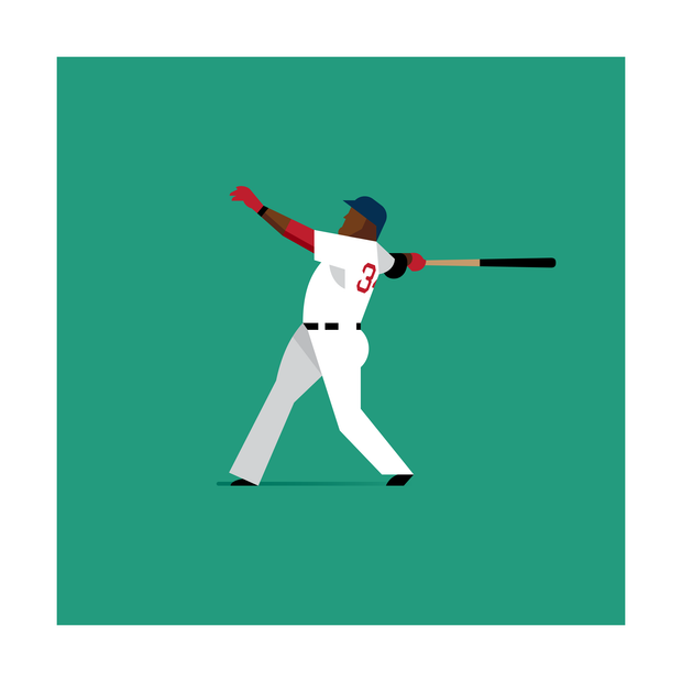 David Ortiz Boston Red Sox Art Print