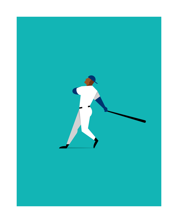 The Perfect Swing Art Print 16x20