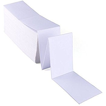 "4"" x 6"" Fan Fold Labels/Box - 4x6"", Sample Rate"