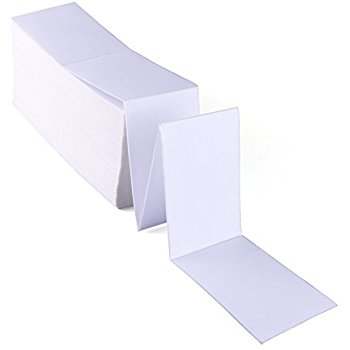 "4"" x 6"" Fan Fold Labels/Box Wholesale"