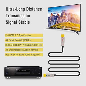 RuiPRO 4k HDMI Fibre Optic Cable 4K@60Hz