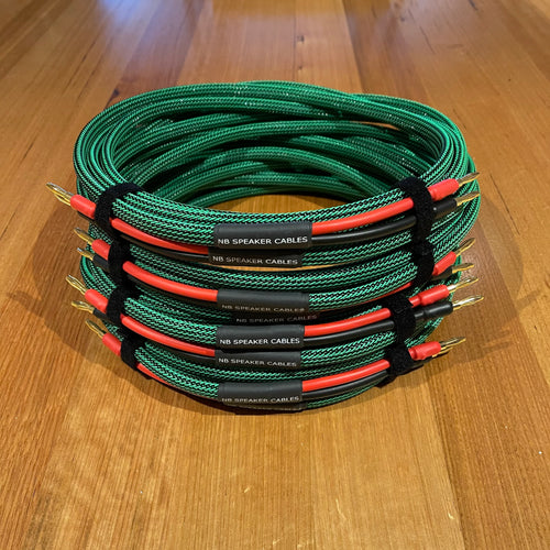 4m 'Villain' Speaker Cables - Pair - NEAR NEW