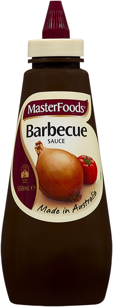 BARBECUE SAUCE, MASTERFOODS, 500ML