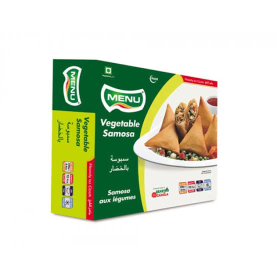 VEGETABLE SAMOSA, MENU, 12PCS(240G)
