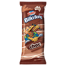 PETERS BILLA BONG CHOCOLATE ICE CREAM, 61G