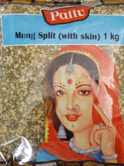 MUNG SPLIT WITH SKIN PATTU 1KG