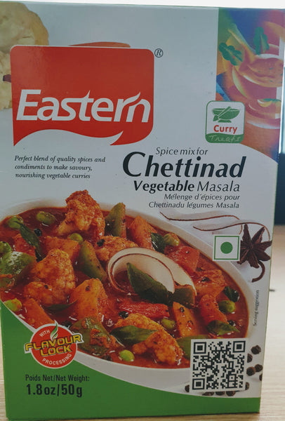 CHETTINAD VEGETABLE MASALA, Eastern 50G