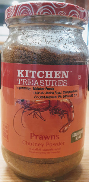 PRAWN CHUTNEY POWDER, KT, 200G