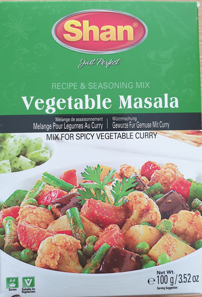 VEGETABLE MASALA, SHAN, 100G