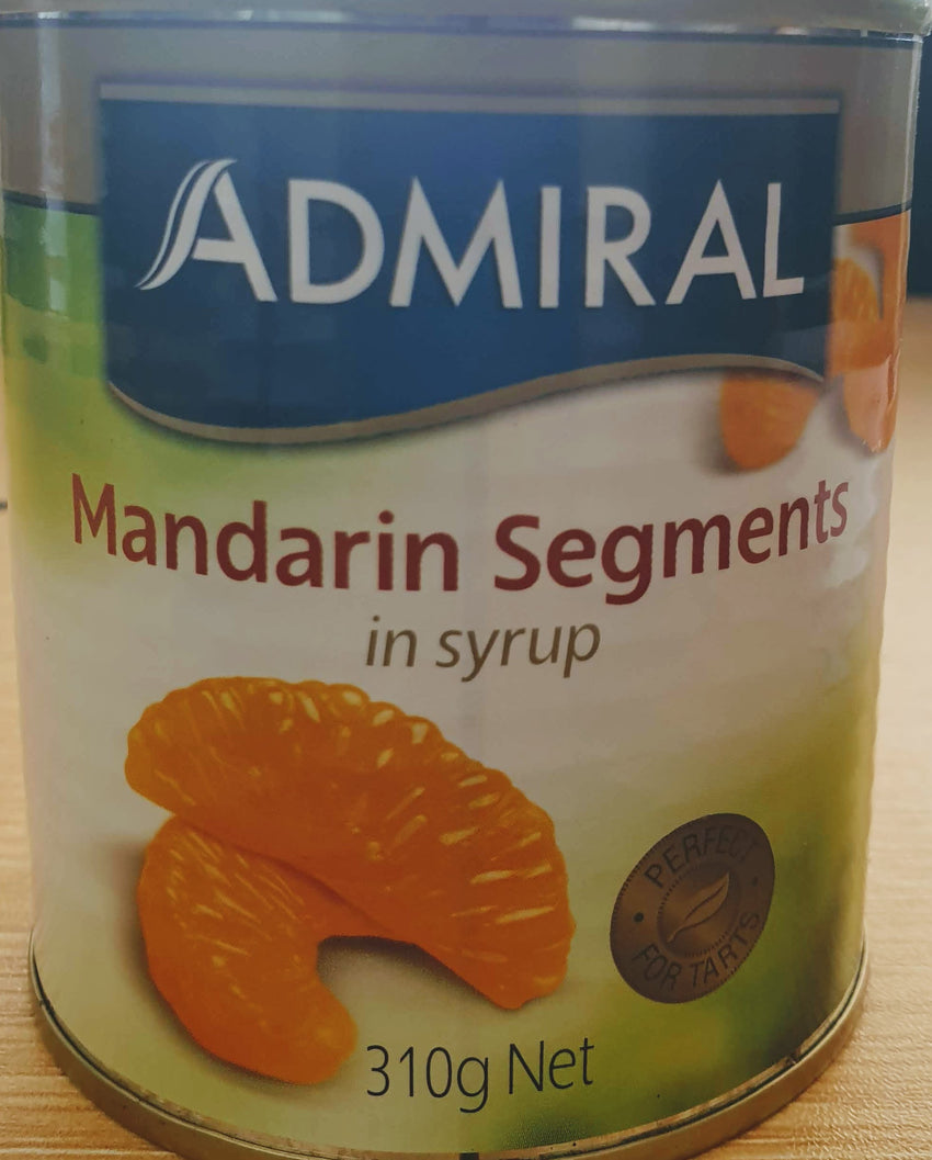 ADMIRAL MANDARIN SEGMENTS IN SYRUP, 310G