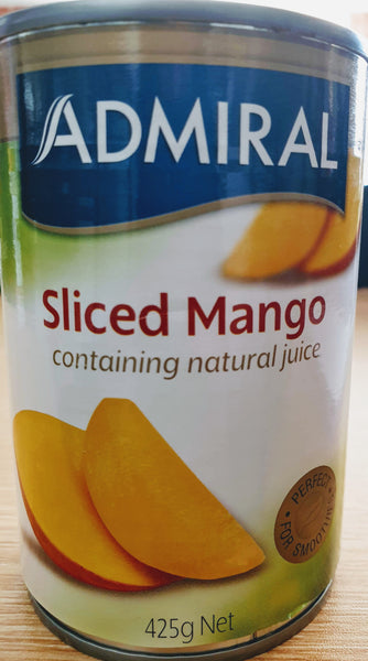 Admiral sliced mango, 425 g