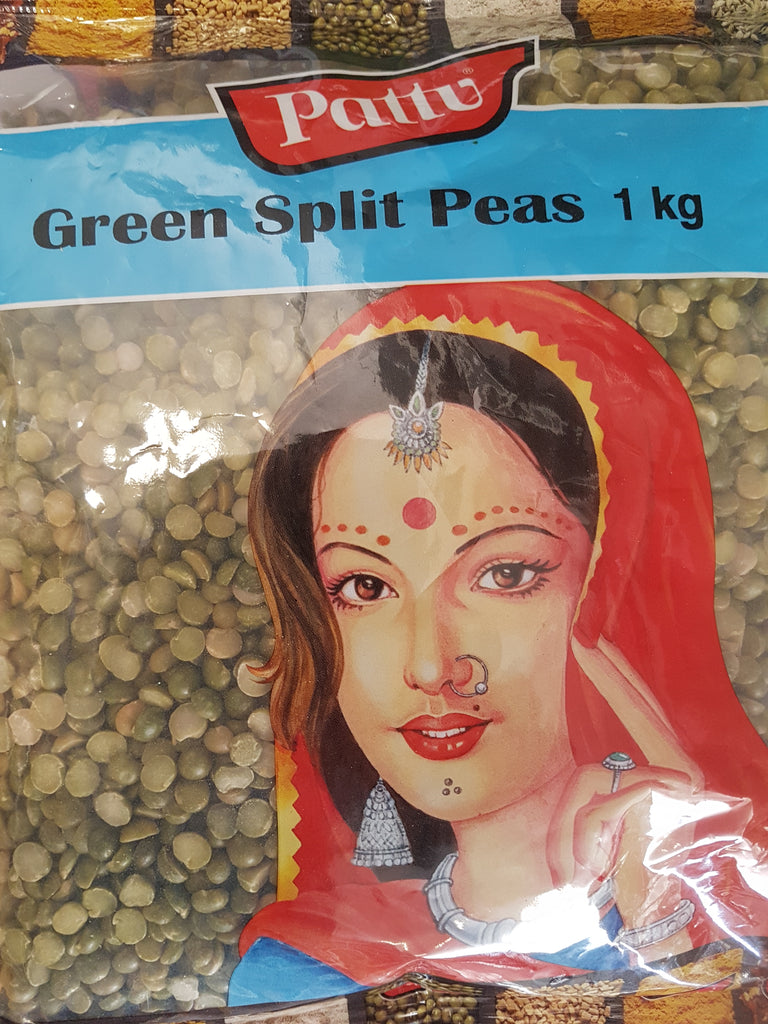 GREEN SPLIT PEAS PATTU 1KG