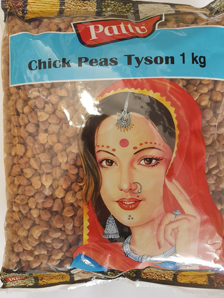 CHICK PEA TYSON ( BLACK CHANA), PATTU, 1KG