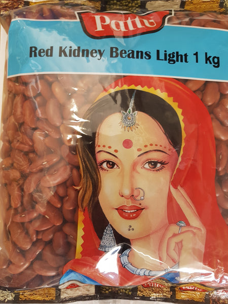 RED KIDNEY BEANS LIGHT, PATTU, 1KG